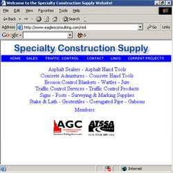 Specialty Construction's old site